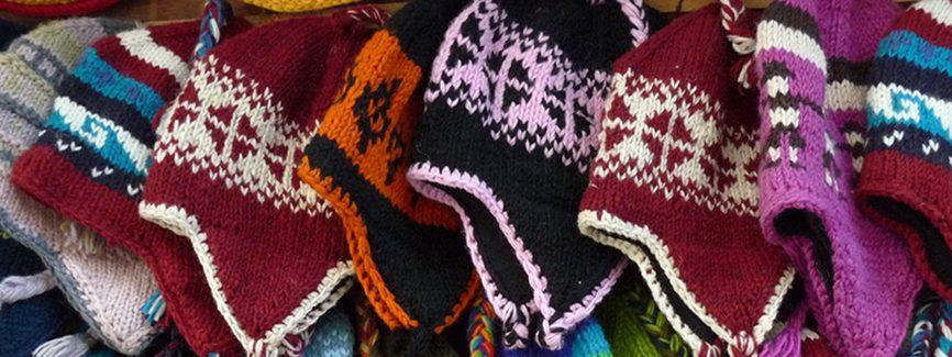 woolen hats banner
