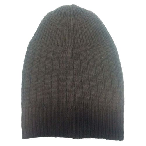 cashmere cap in mix jersey knit