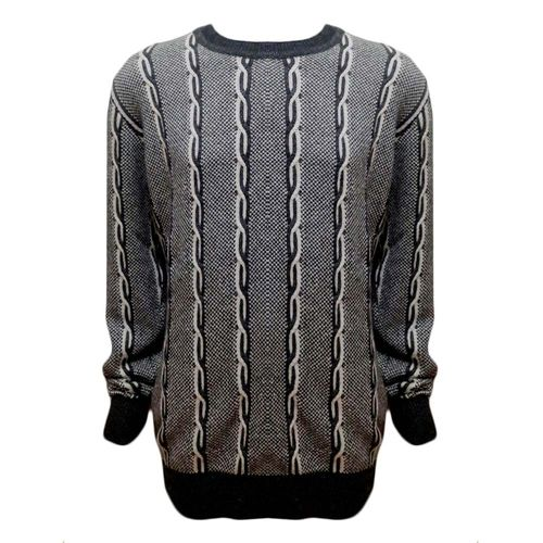 Woolen Cable Crew Neck in full sleeve